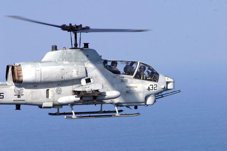USMC AH-1W Super Cobra Helicopter